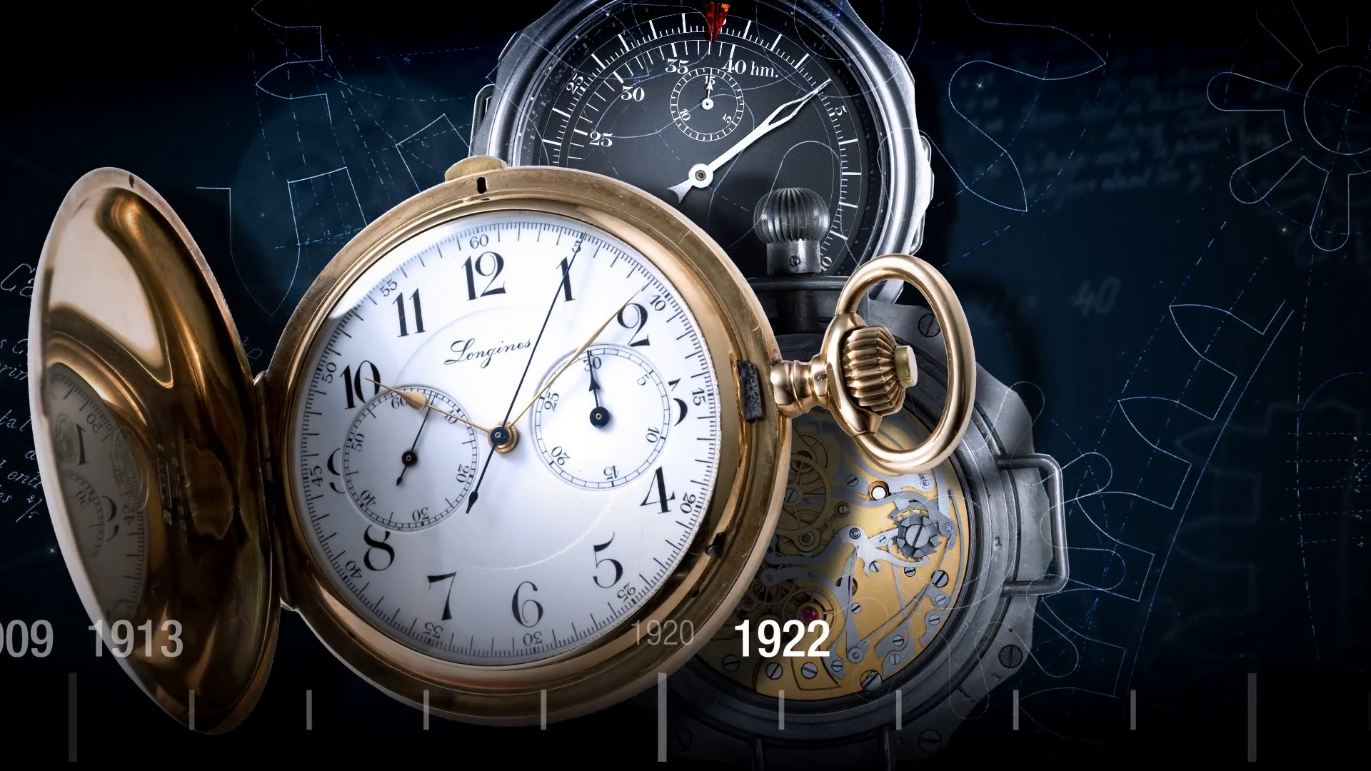 3DVISION NYVALIS 2016 LONGINES Chronograph Tradition 02